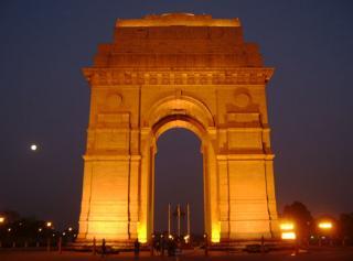 India Gate And Rajpath