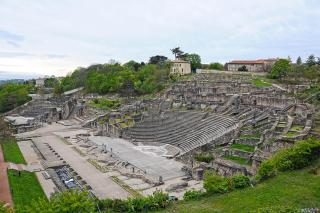 museum of gallo-roman civilization or the odeon and the roman amphitheatre