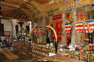 Temple Of Sacred Tooth Relic Or Sri Dalada Maligawa