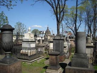 The Lazarus Cemetery Or Alexander Nevsky Lavra