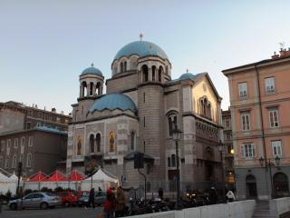 Saint Spyridon Church or Chiesa Serbo Ortodossa di San Spiridione