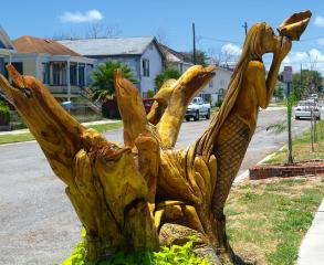 tree sculptures