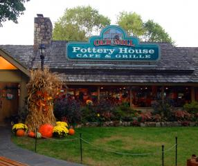 The Old Mill Pottery House Cafe And Grille