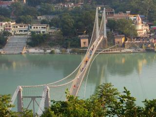 The Ram Jhula Bridge