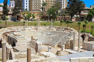 Roman Amphitheatre And Kom El Dikka