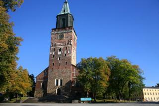 Turku Cathedral Or Turun Tuomiokirkko
