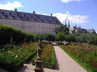 Rose Garden At The New Residenz