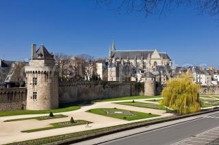 Old City Walls Of Vannes