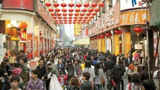 Dong Men Pedestrian Street