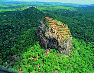 The Sigiriya Fortress
