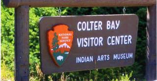 Colter Bay Visitor Center And Indian Arts Museum