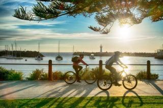 Wollongong To Thirroul Bike Track