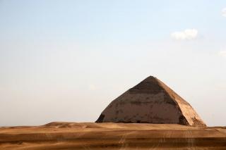 the pyramids at dahshur