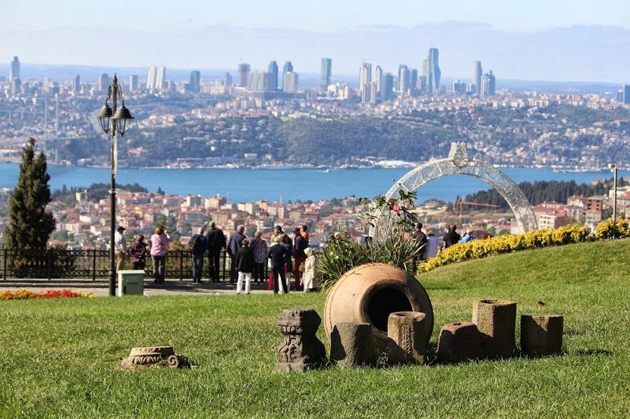 Dolmabahce Palace And Two Continents (from Europe To Asia)  - Istanbul