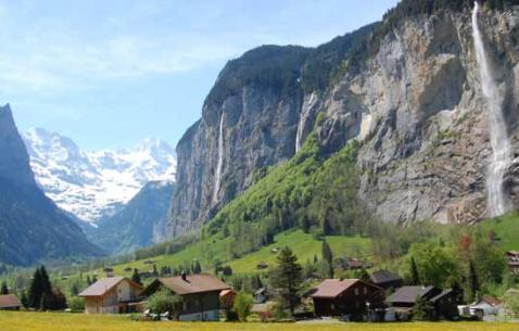 Travel to Lauterbrunnen