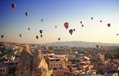 Travel to Goreme