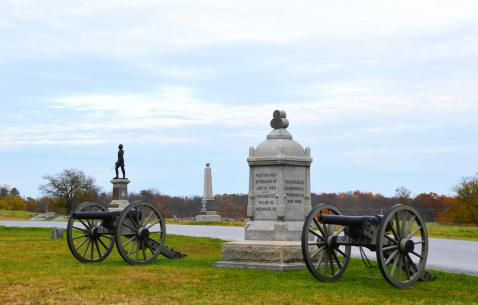 How to get in and get around Gettysburg