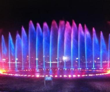 Autumn water square, Nanchang, China, Asia