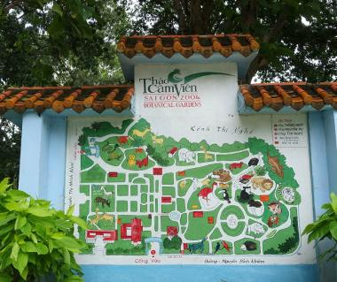 Saigon zoo and botanical gardens vietnam entrance fee Garden city zoo