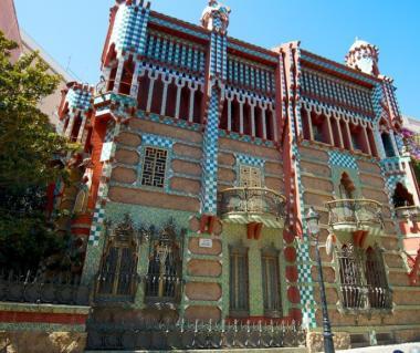 casa vicens barcelona spain europe