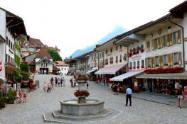 Gruyeres, Canton Of Fribourg, Switzerland