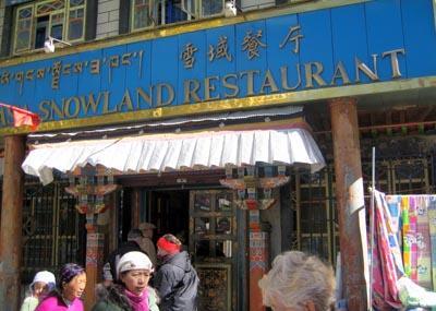 Snowland Restaurant, Lhasa