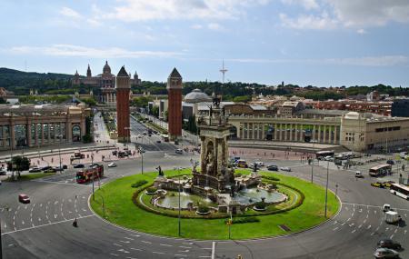 Placa D Espanya, Barcelona