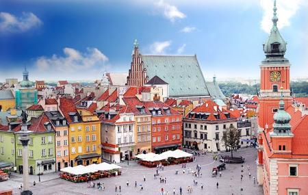 Warsaw Old Town Image