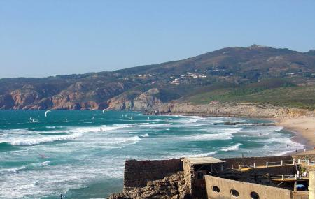 Praia Do Guincho Or Guincho Beach, Cascais