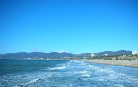Santa Monica Beach Image