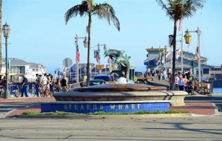 Santa Barbara Waterfront And Stearns Wharf, Santa Barbara