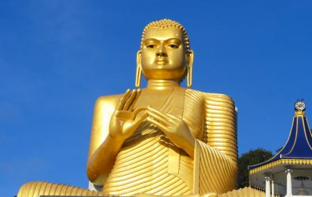 Golden Temple Of Dambulla Image