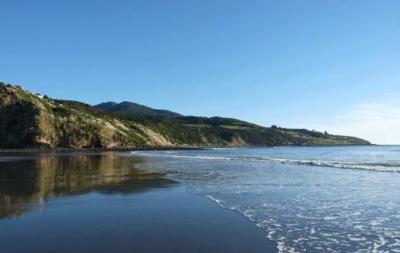 Ngarunui Beach, Raglan