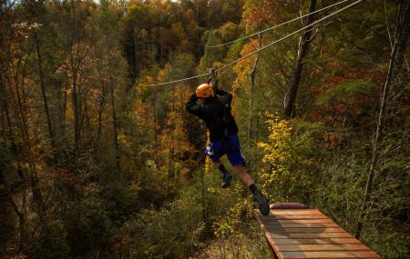 Climb Works Canopy, Gatlinburg