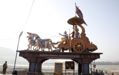 The Triveni Ghat, Rishikesh