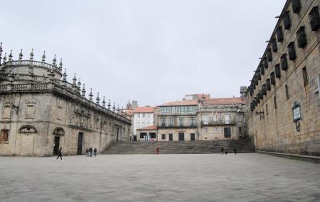 Praza Da Quintana Or Quintana Square, Santiago De Compostela