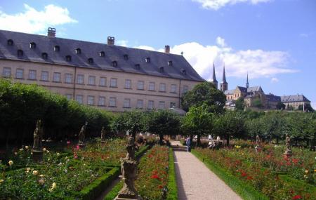 Rose Garden At The New Residenz, Bamberg