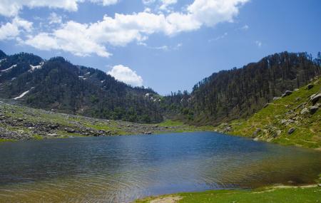 Kareri Lake Image