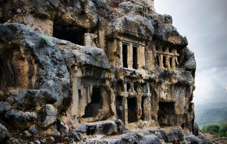 Ancient Lycian Site Of Tlos Image