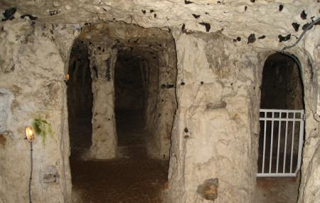 Caves At Naours, Amiens