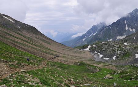 Nichnai Pass, Sonamarg