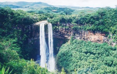Chamarel Waterfall Image