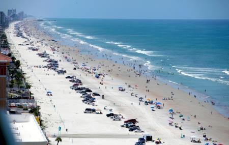 Beach At Daytona Beach , Daytona Beach