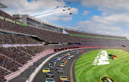 Daytona International Speedway, Daytona Beach