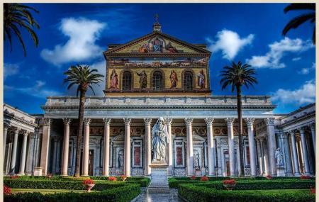 Basilica Of Saint Paul Outside The Walls Image