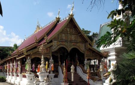 Wat Ming Mueang Temple, Chiang Rai