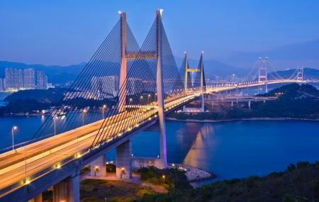 Tsing Ma Bridge Image