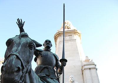 Monumento A Cervantes, Madrid