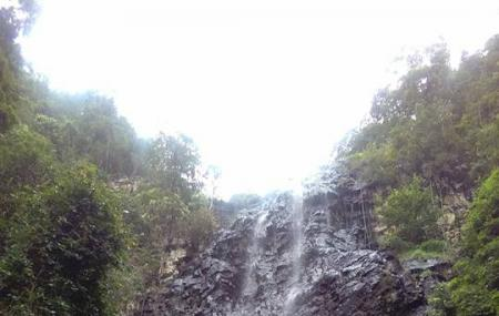 Temurun Waterfall Image