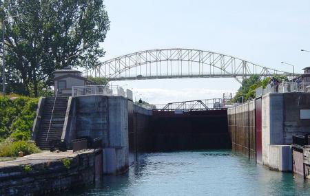 Sault Ste. Marie Canal, Sault Ste. Marie